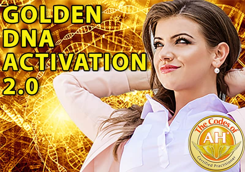 Golden DNA Activation 2.0 with Codes of AH