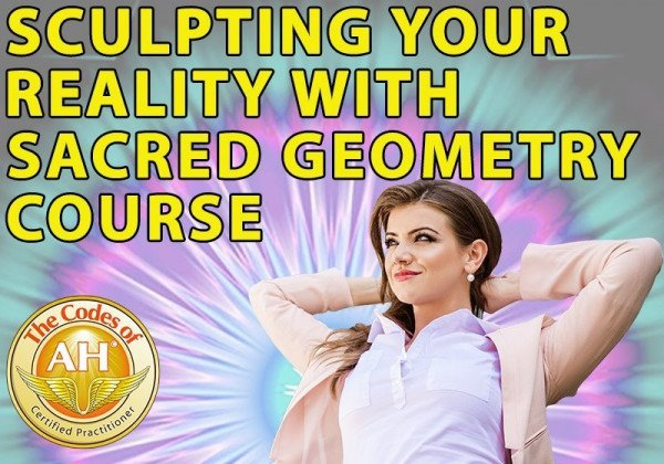 Sculpting Your Reality with Sacred Geometry Golden DNA Activation 1.0 and 2.0 for Soul Power