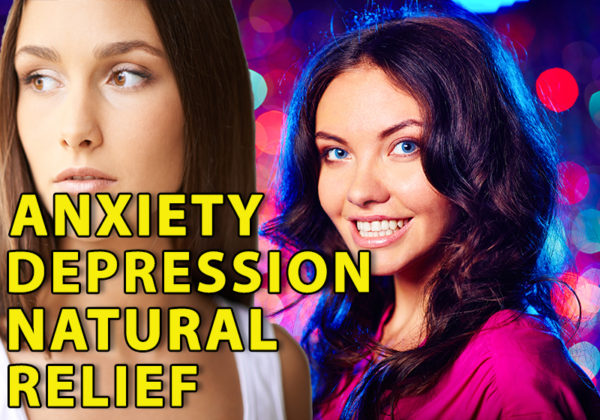 Woman gets natural relief from anxiety and depression