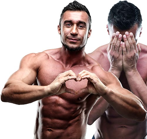 Three Common Feelings that Bodybuilders and ALL Humans Experience Daily. A muscle man who has learned to love his body