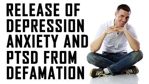 No more anxiety depression or PTSD