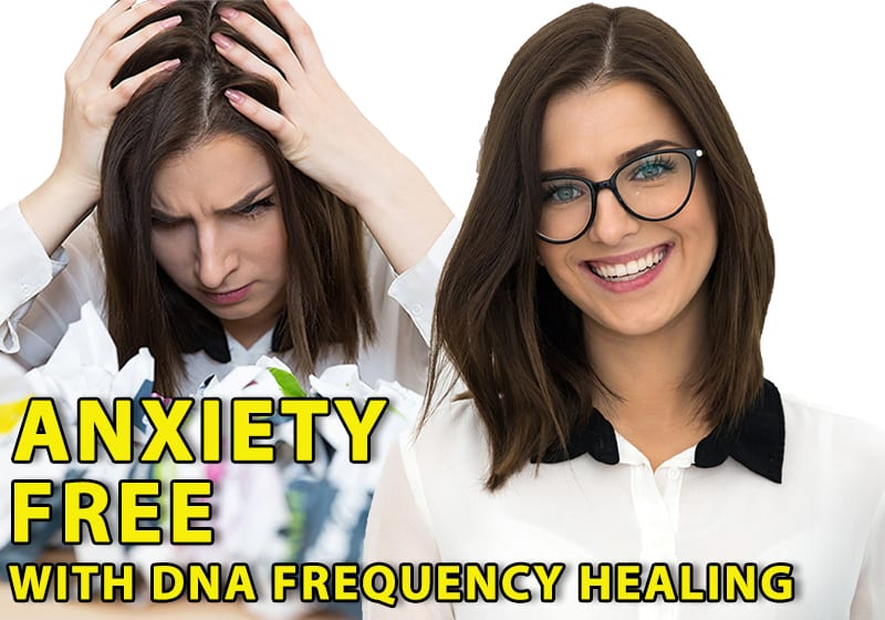 Anxiety Free with DNA Frequency Healing subliminal audio